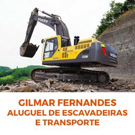 Gilmar Fernandes Aluguel de Escavadeira e Retroescavadeira