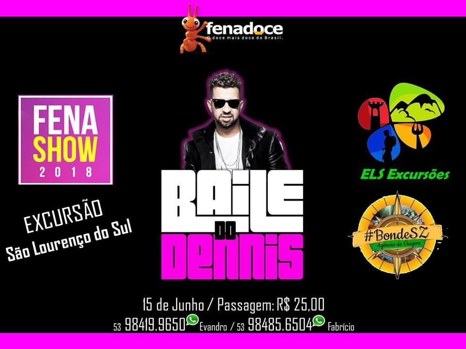 Excursão de SLS - Baile Do Dennis - Fenashow !!