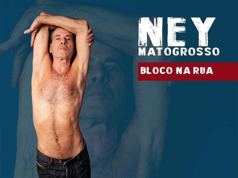 Ney Matogrosso em Pelotas RS  Bloco na Rua