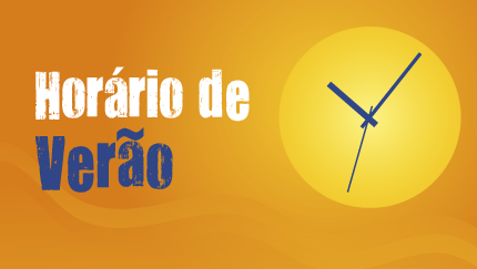 HORÁRIO DE VERÃO COMEÇA DOMINGO