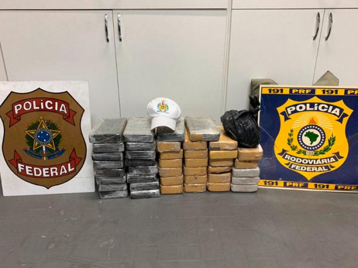 45 quilos de cocaína são apreendidos em Pelotas