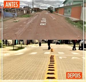 Requalificação de ruas beneficia moradores do Dunas e Bom Jesus