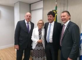 Governo do Estado busca em Brasília liberação de 2,9 milhões para beneficiar hospitais