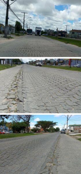 Obras na Av. São Francisco de Paula não estão concluídas