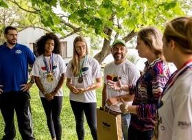 Prefeita de Pelotas parabeniza atletas do Remar para o Futuro
