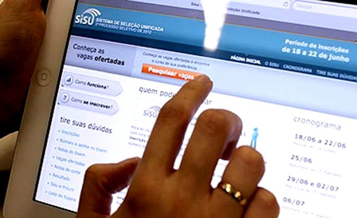 Em menos de 24 horas o número de candidatos inscritos no Sisu supera os 208 mil