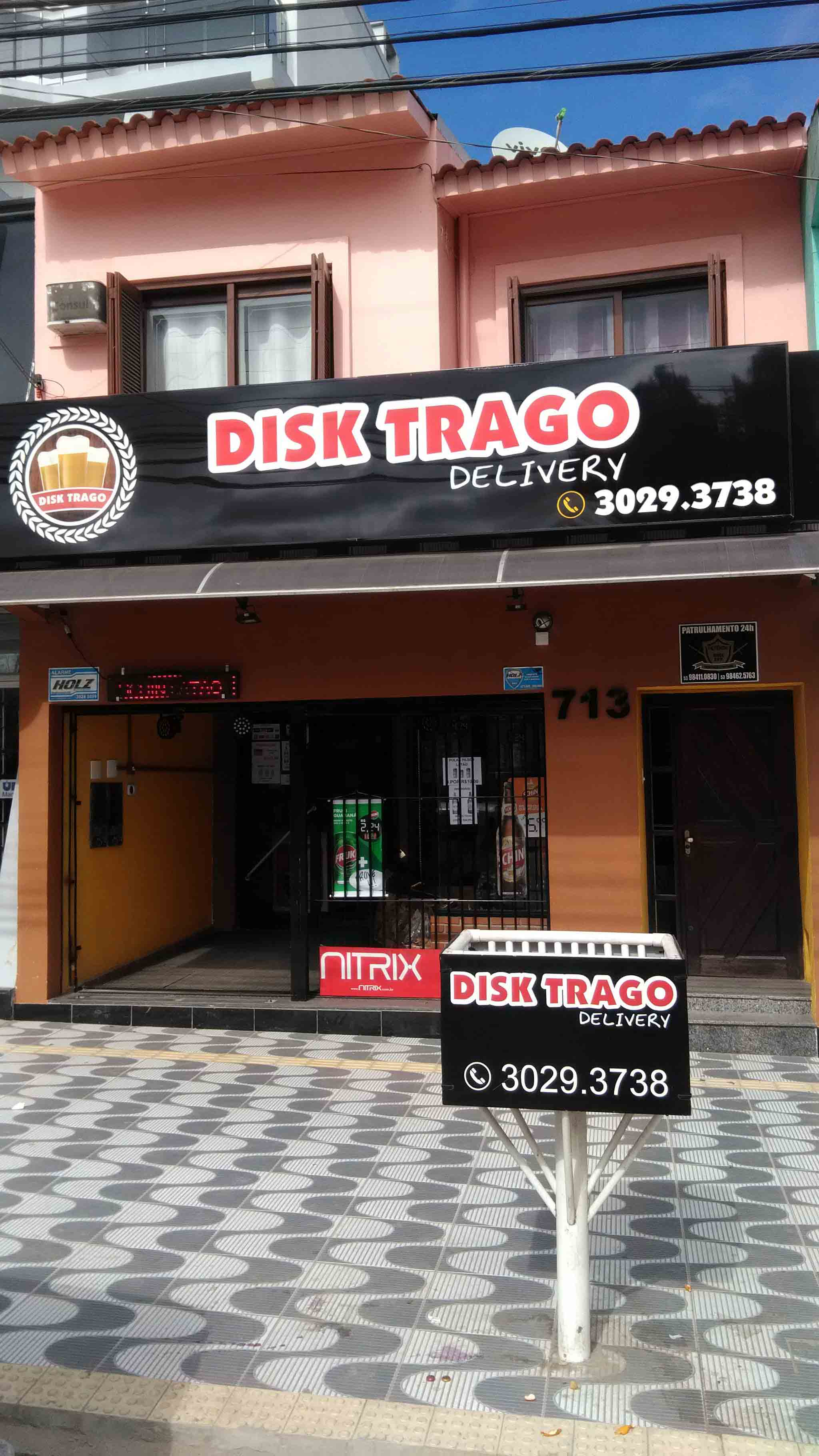 Disk Trago Delivery