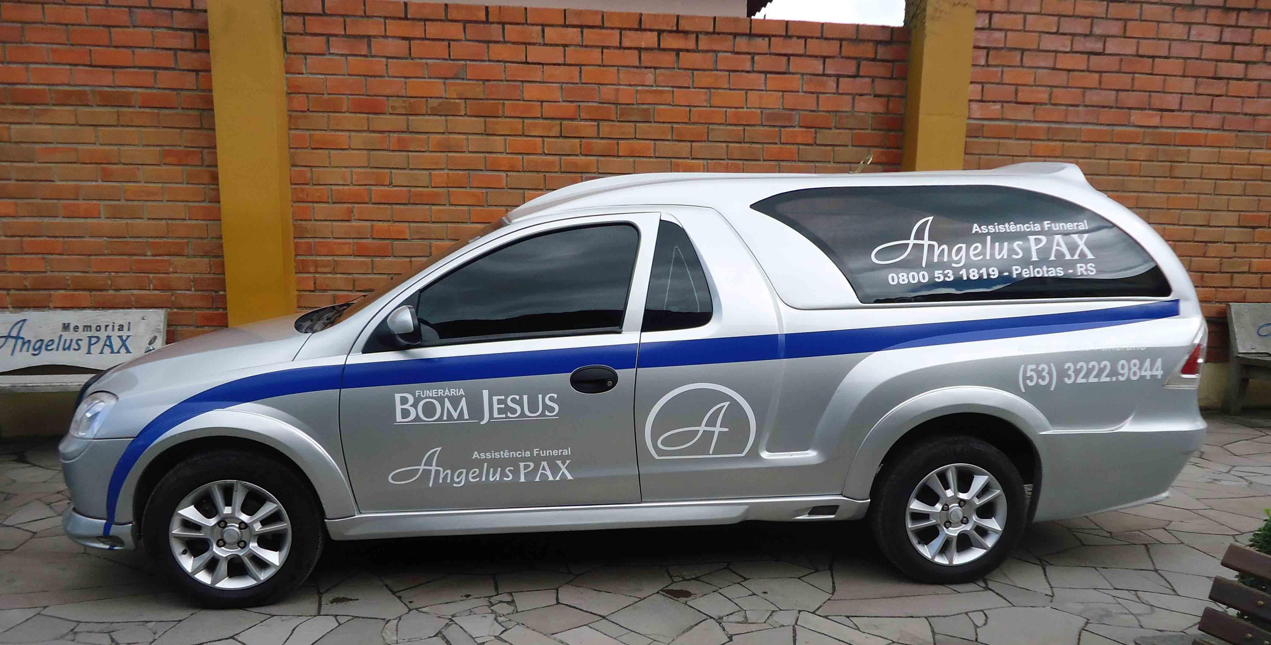 foto 4 Memorial Angelus Pax Capelas  Velatórias camionete prata nova