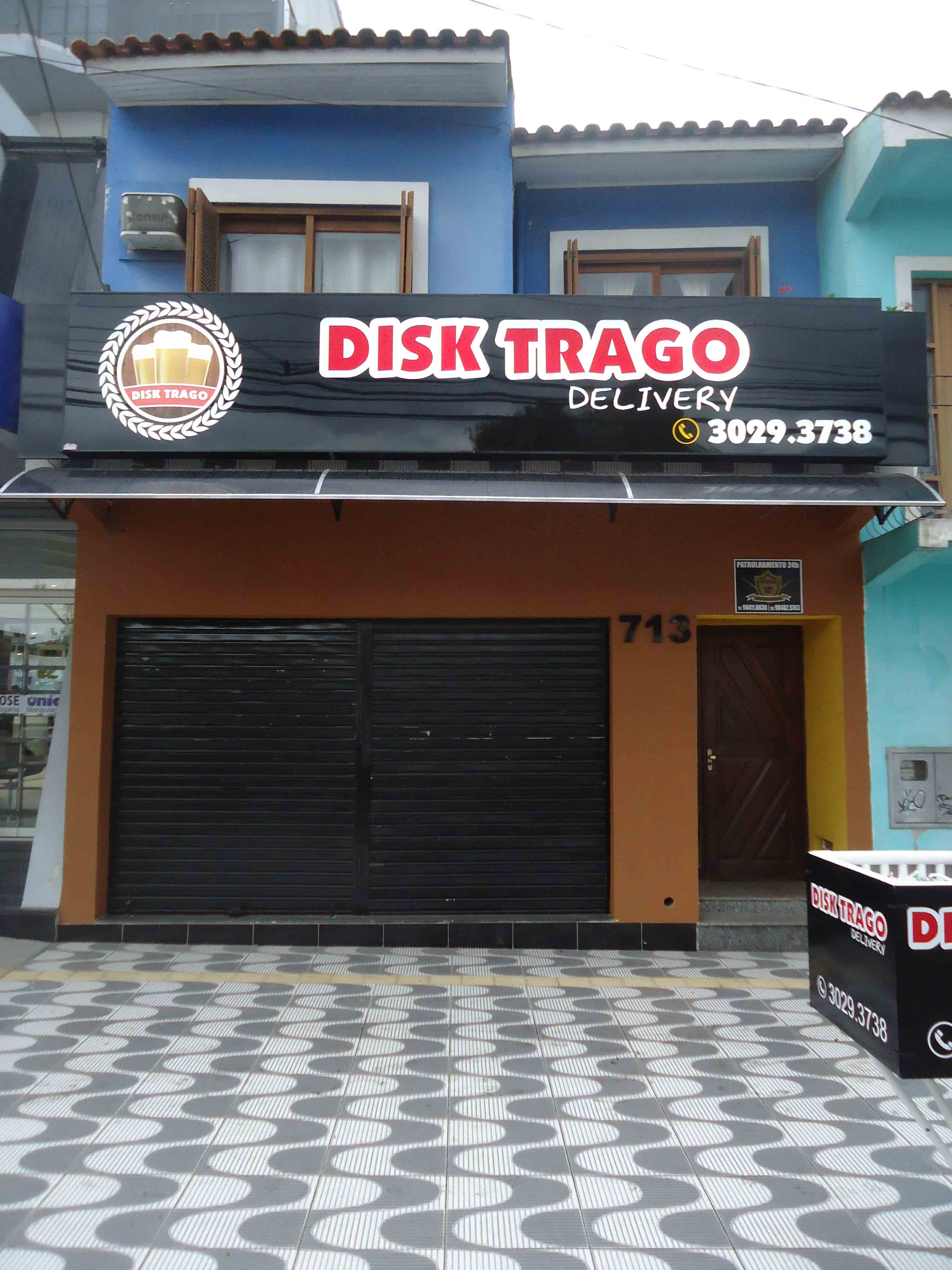 Disk Trago Delivery