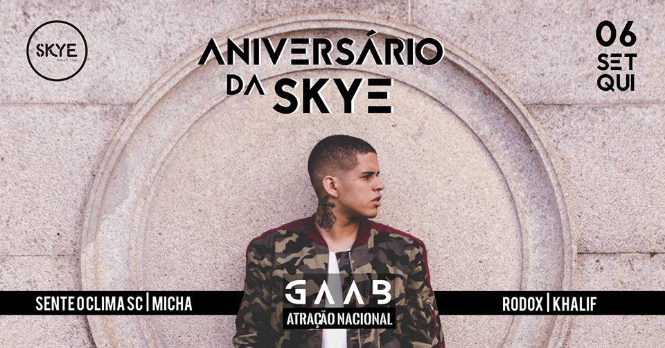 Aniversário OPEN BAR 1 ano Skye com Gaab