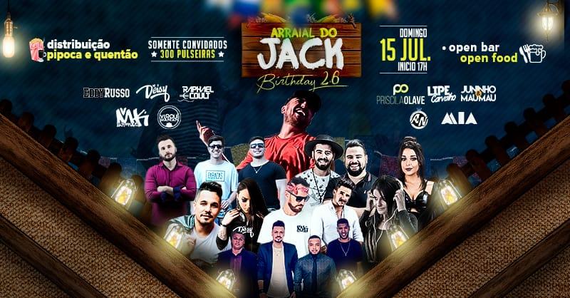 ARRAIAL DO JACK  BIRTHDAY 2.6