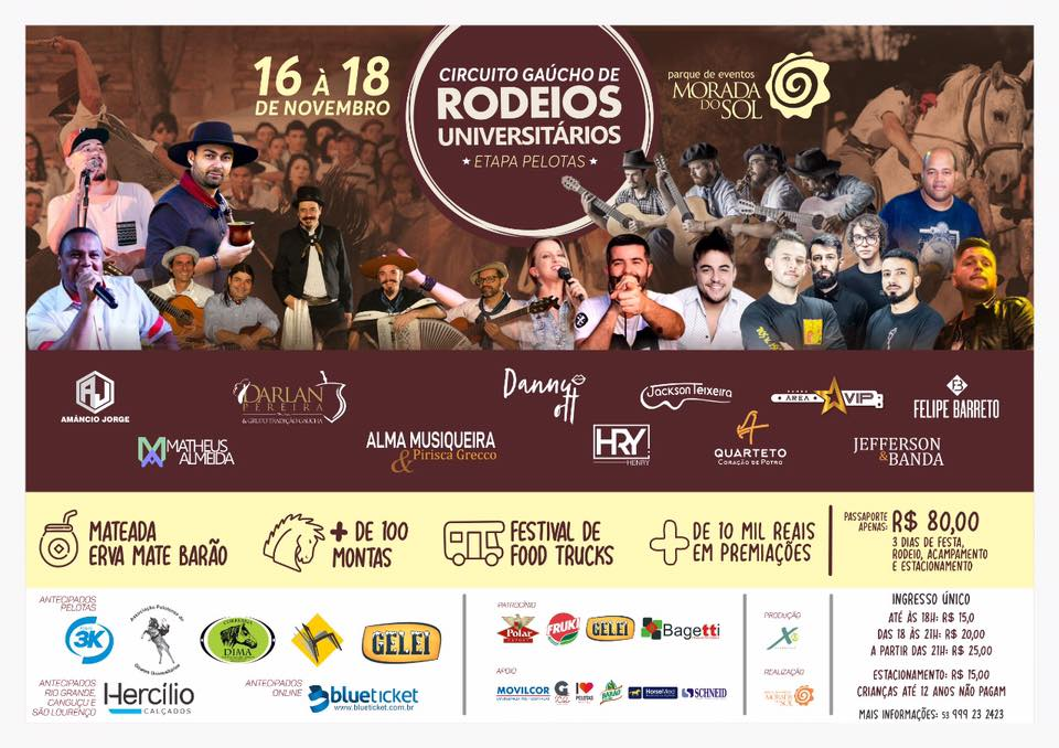 Rodeio Universitário - Etapa Pelotas 2018