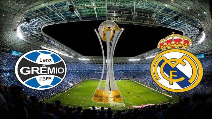 Mundial Interclubes - Grêmio X Real Madrid - Contagem regressiva