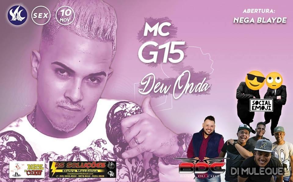 Baile Do Mc G15 Na Sac OpenBar