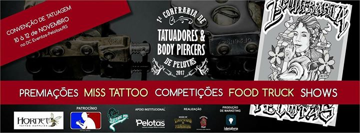 Confraria De Tatuadores E Body Piercers de Pelotas 2017