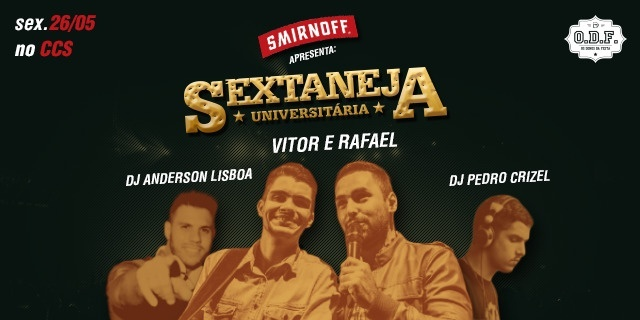 SEXTANEJA OPEN BAR O.D.F [ SMIRNOFF EDITION ]