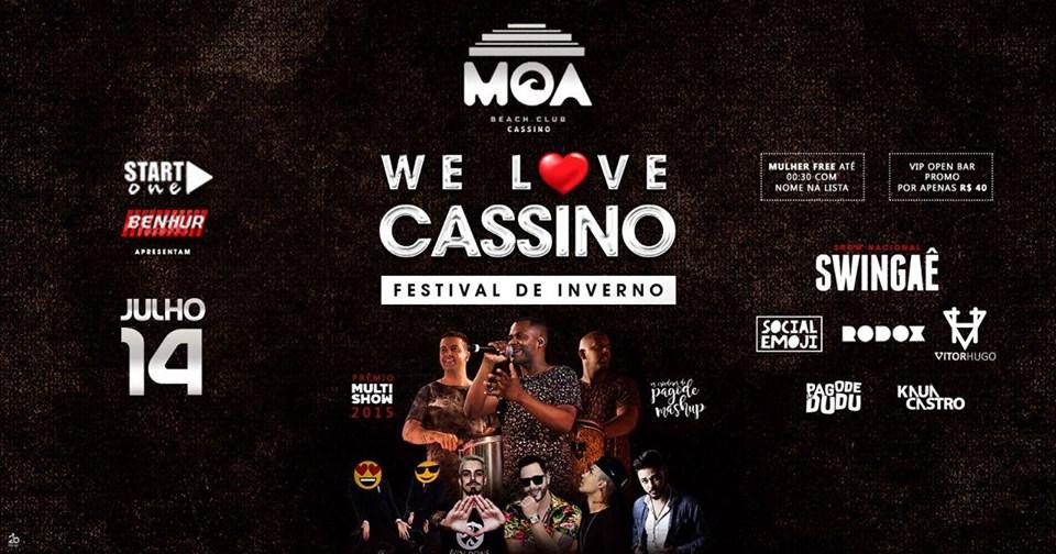 We Love Cassino - Festival de Inverno