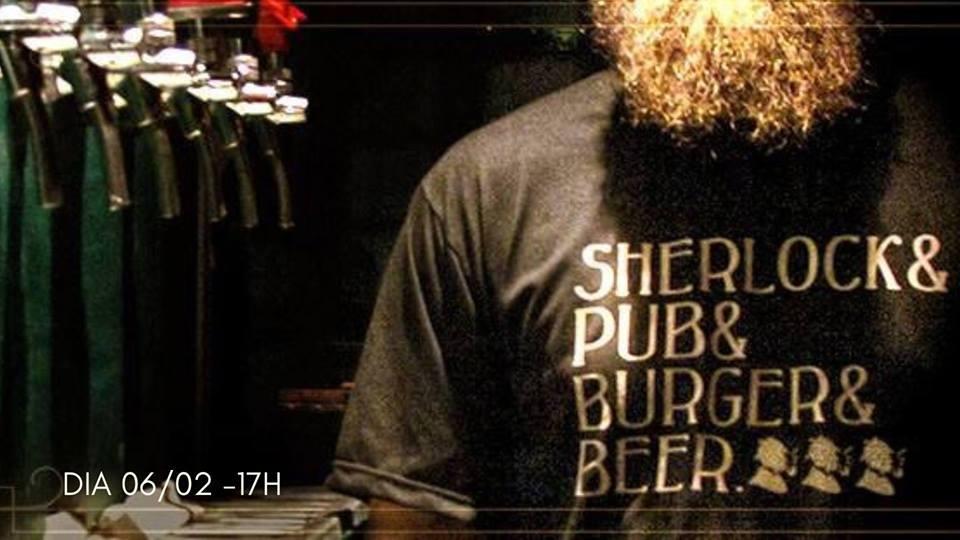Sherlock Pub e Burger e Beer - Edição Verão