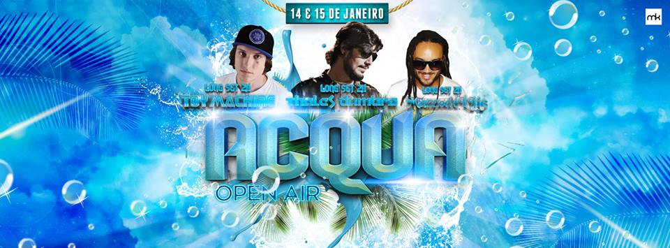 Acqua - Open Air - Entrada Free