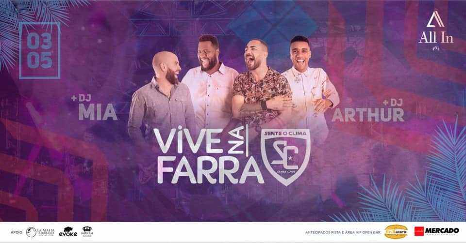 Vive Na Farra - Sente o Clima na All In 464